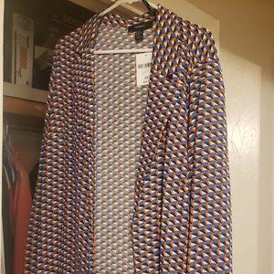 2x light blazer jacket